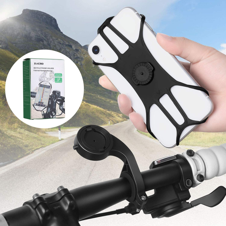 Soporte de smartphones para bicicletas Zacro
