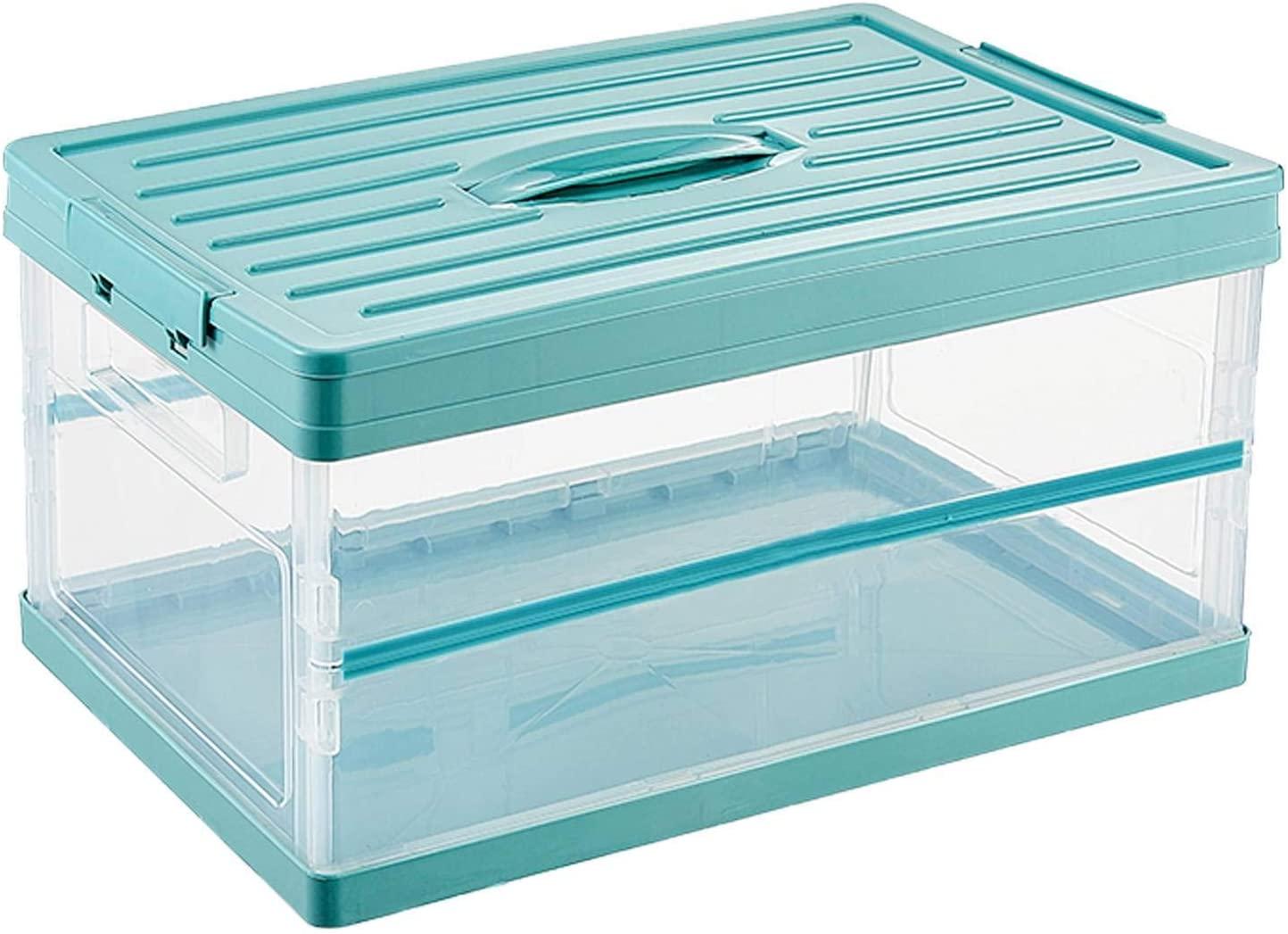 Caja de almacenamiento portátil plegable de 50L