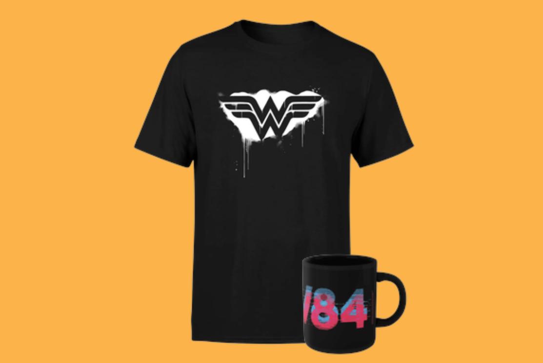 Pack Camiseta + Taza de Wonderwoman