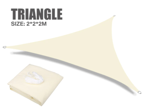 Sombrilla de protección solar impermeable tipo toldo