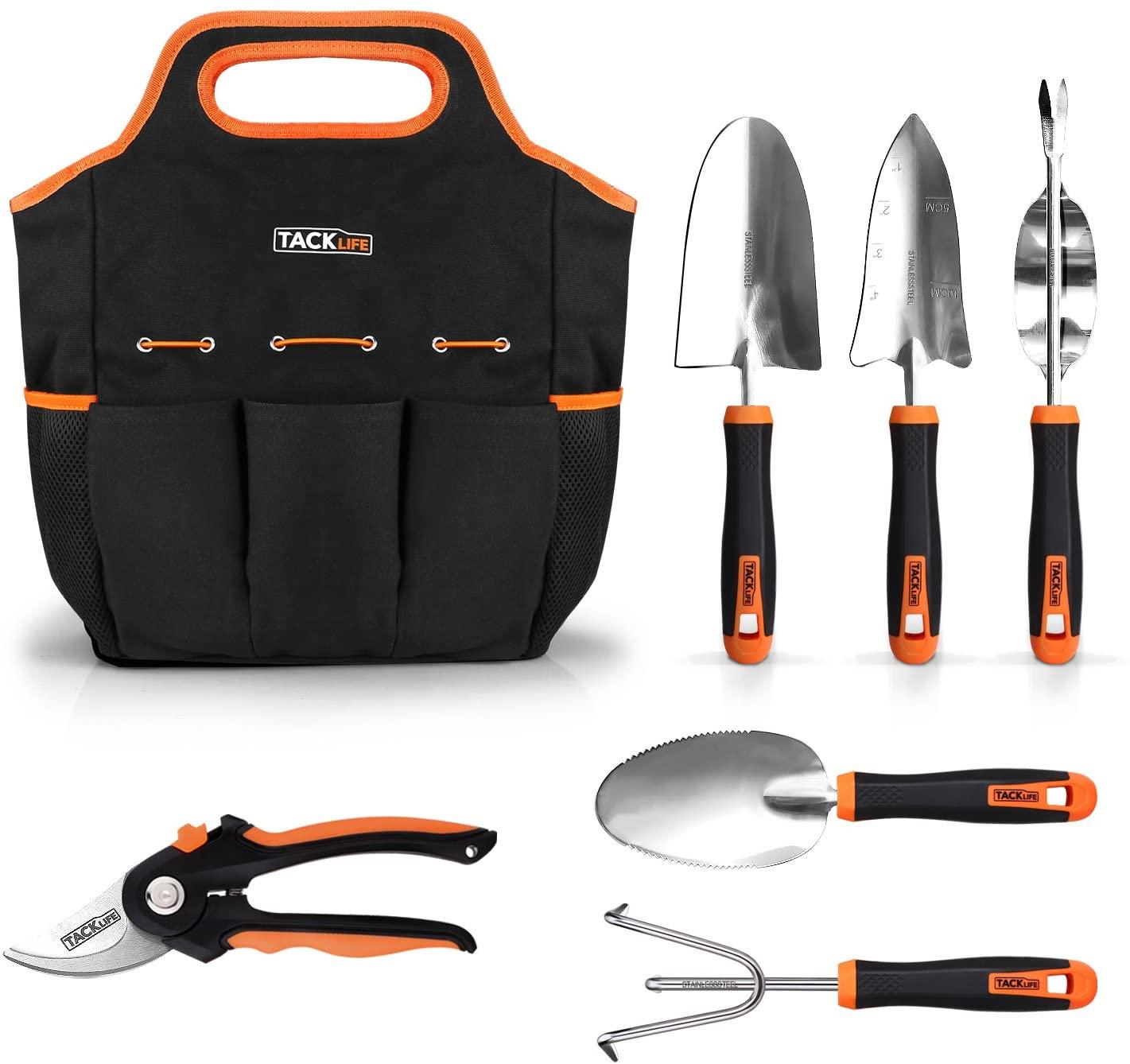 Set herramientas de jardinería 7 en 1