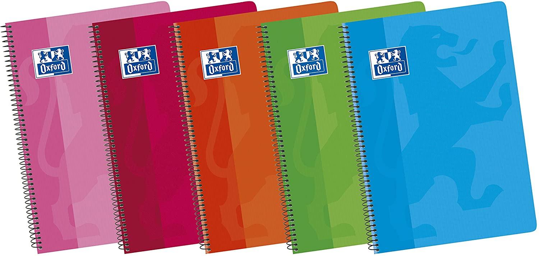Oxford Classic Pack de 5 cuadernos A5