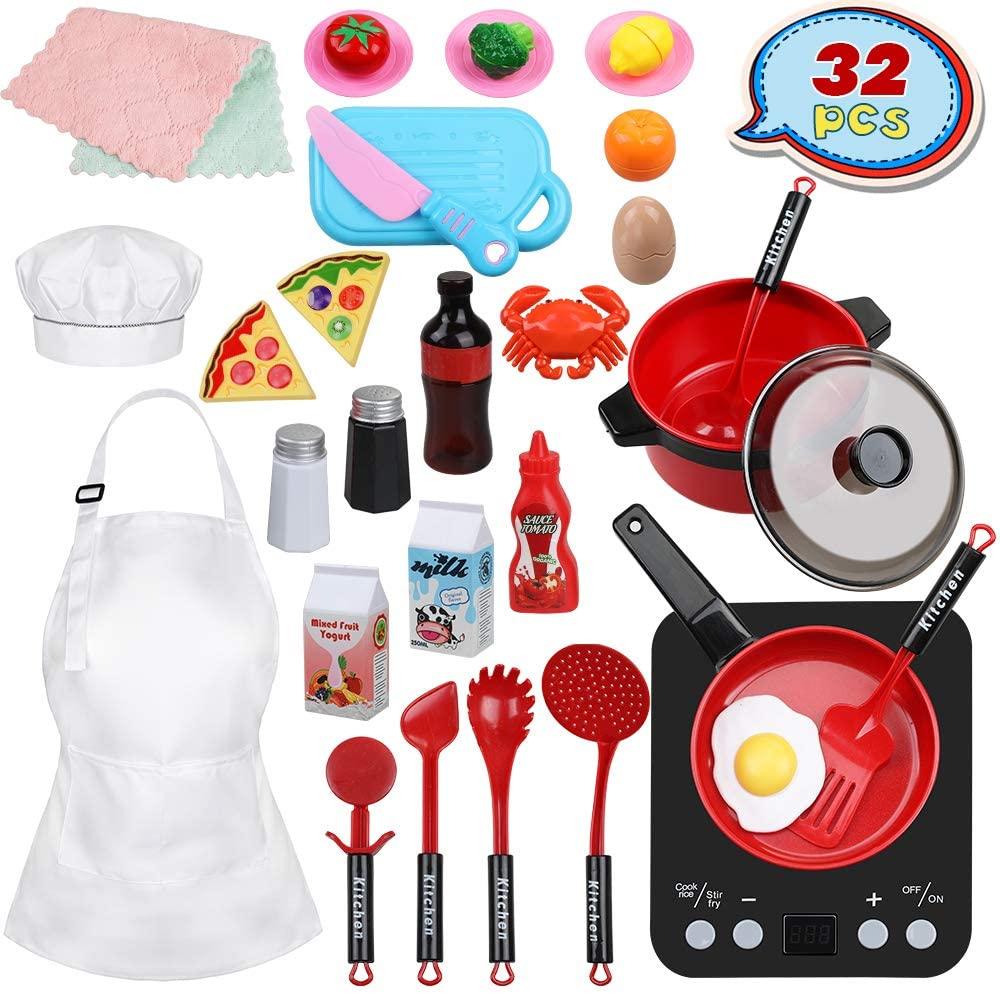 Set de juguetes de cocina para niños Anpro