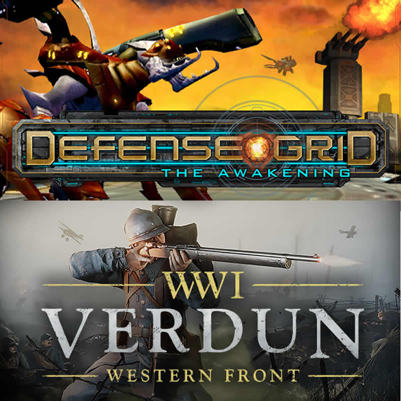 Defense Grid: The Awakening y Verdun en Epic Games GRATIS