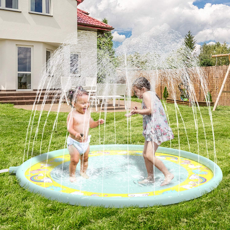 Alfombra de juego acuática para niños