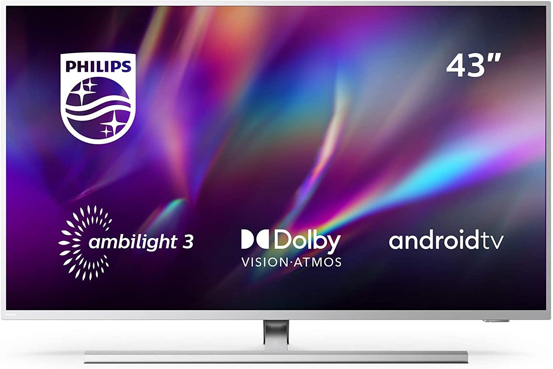 "Smart TV Philips 58"" UHD 4K Ambilight"