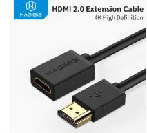 Cable de extensión HDMI Macho Hembra 4K 0,5m