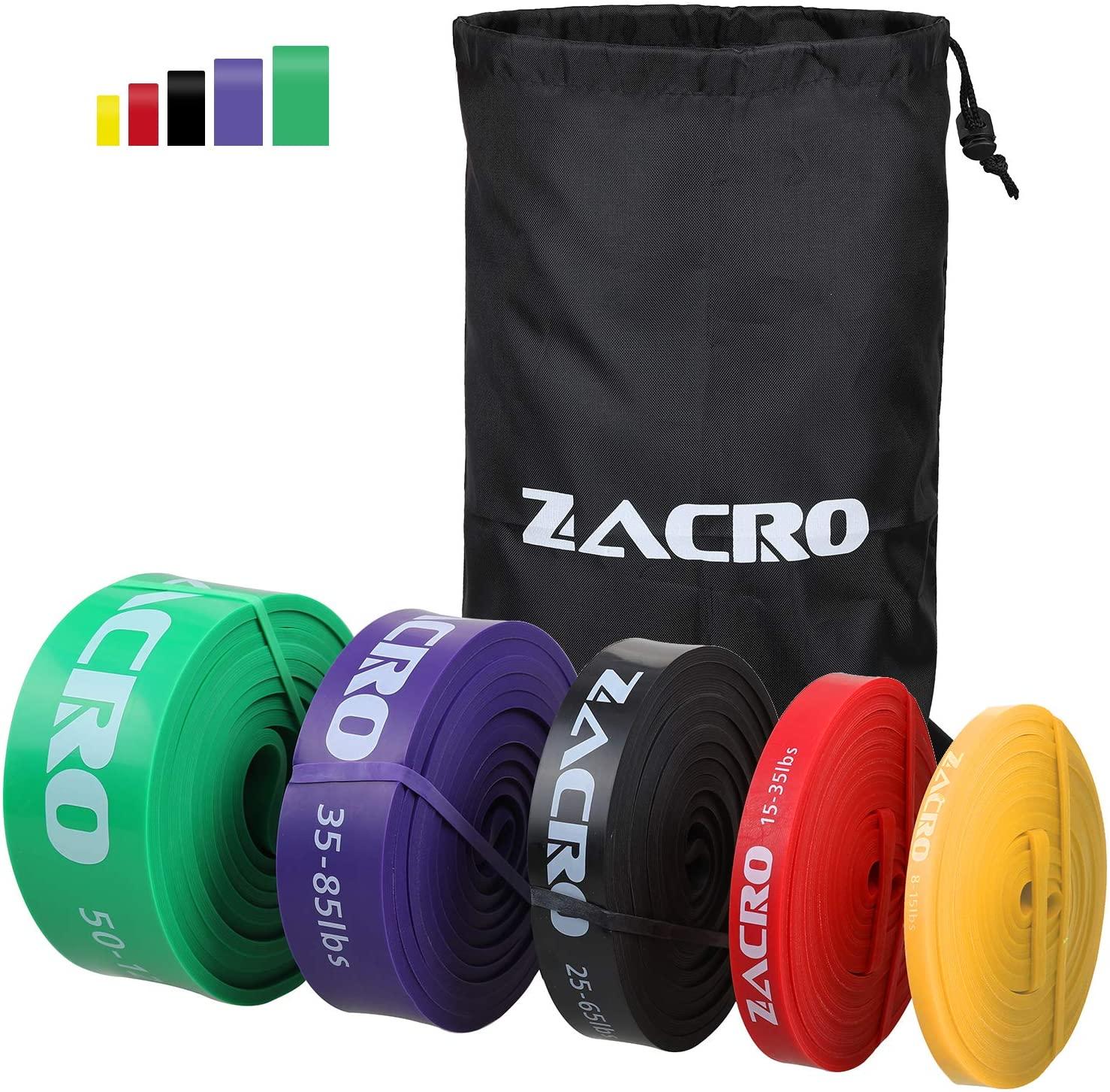 Set de 5 bandas de resistencia Zacro