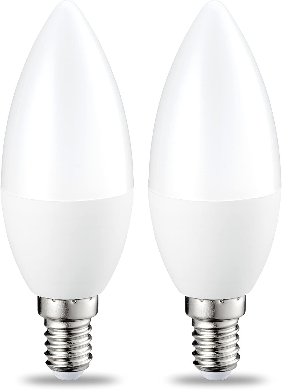 Pack de dos bombillas LED Amazon Basics