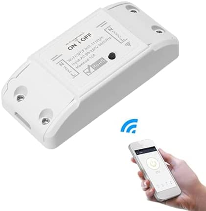 Interruptor WiFi Remoto compatible Alexa y Google Home