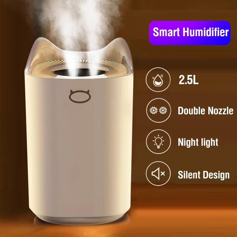 Humidificador de aire ultrasónico 2,5 Litros