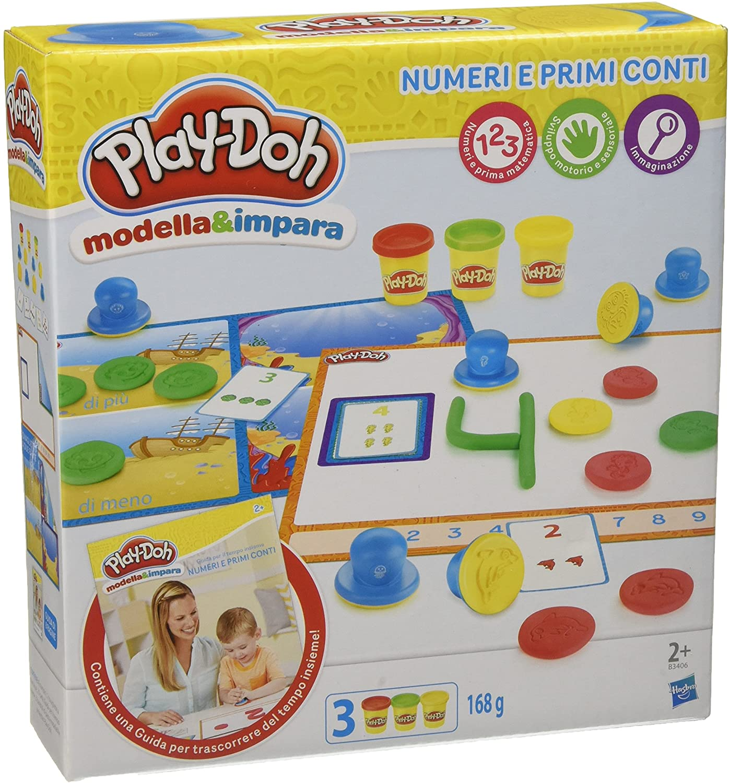 Play-Doh Modela y aprende números y cuentas