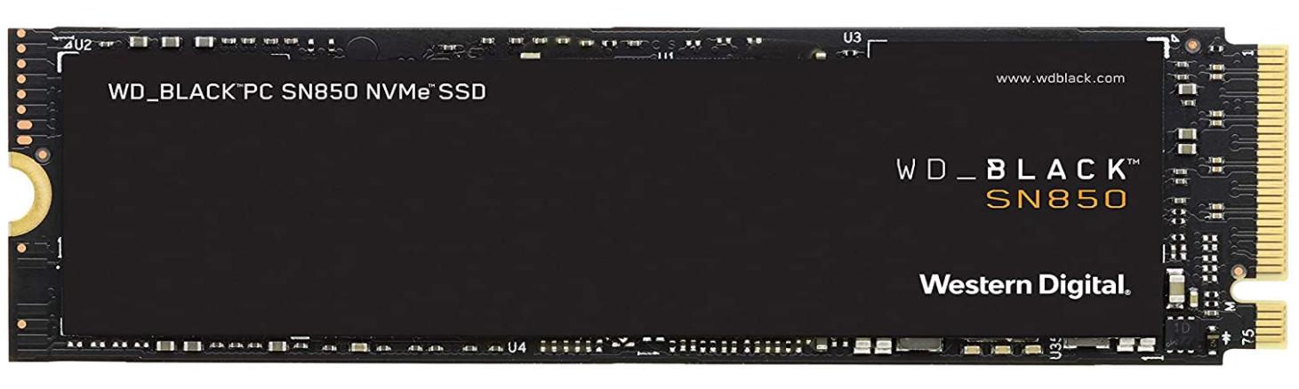 SSD WD BLACK SSD SN850 Gen4 500GB