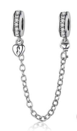 Cadena decorativa con candado y llave