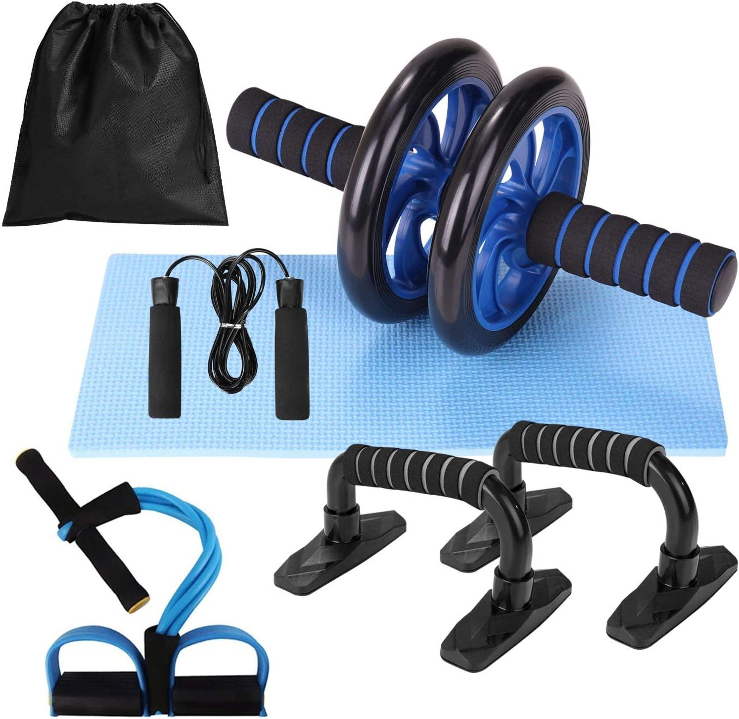 Kit rueda abdominal 5 en 1