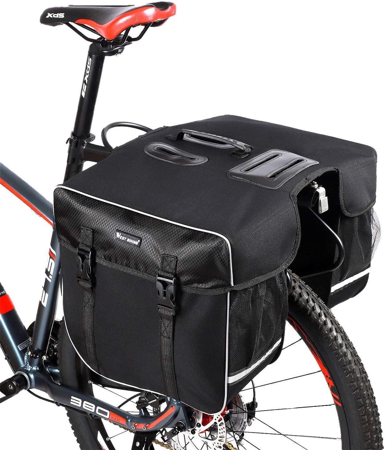 Bolsa de manillar para bicicleta