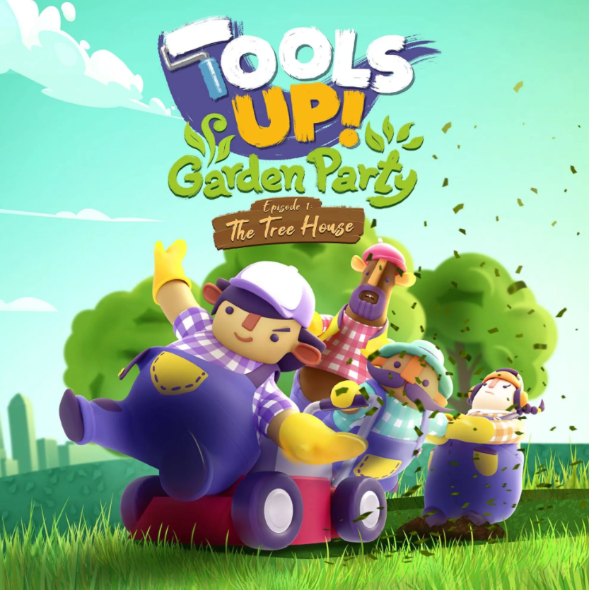 Tools Up! Garden Party Episode 1: The Tree House