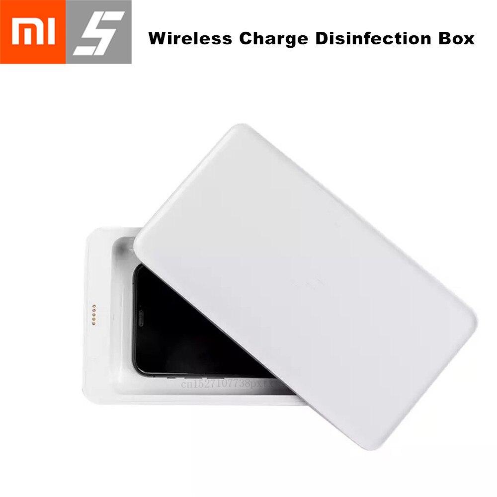 Xiaomi esterilizador + carga inalámbrica