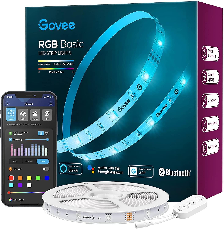 Tira LED RGB 5m WiFi y Bluetooth Govee