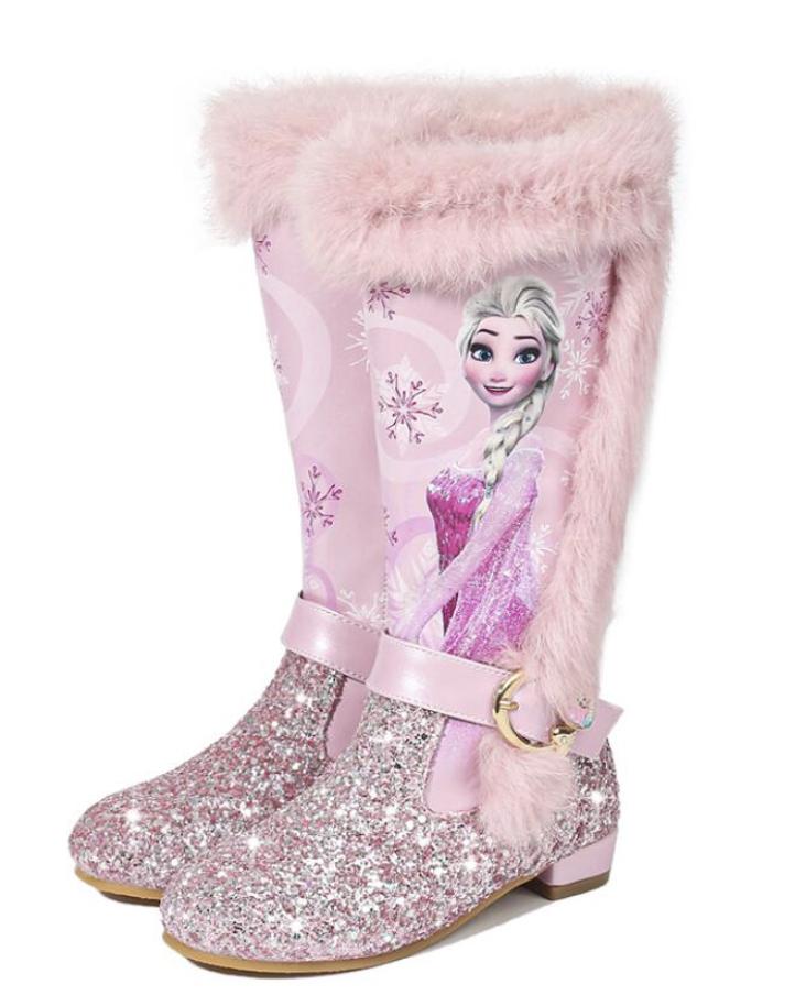 Botas de invierno princesa Elsa
