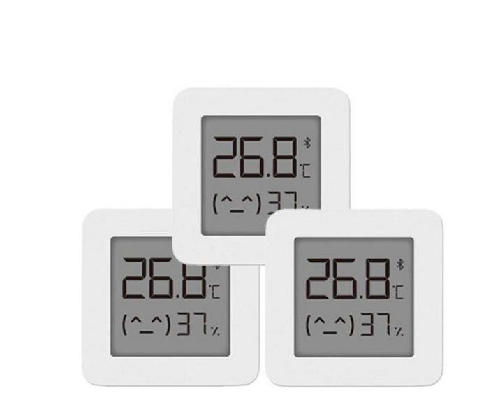 3 Termómetros higrómetro Xiaomi