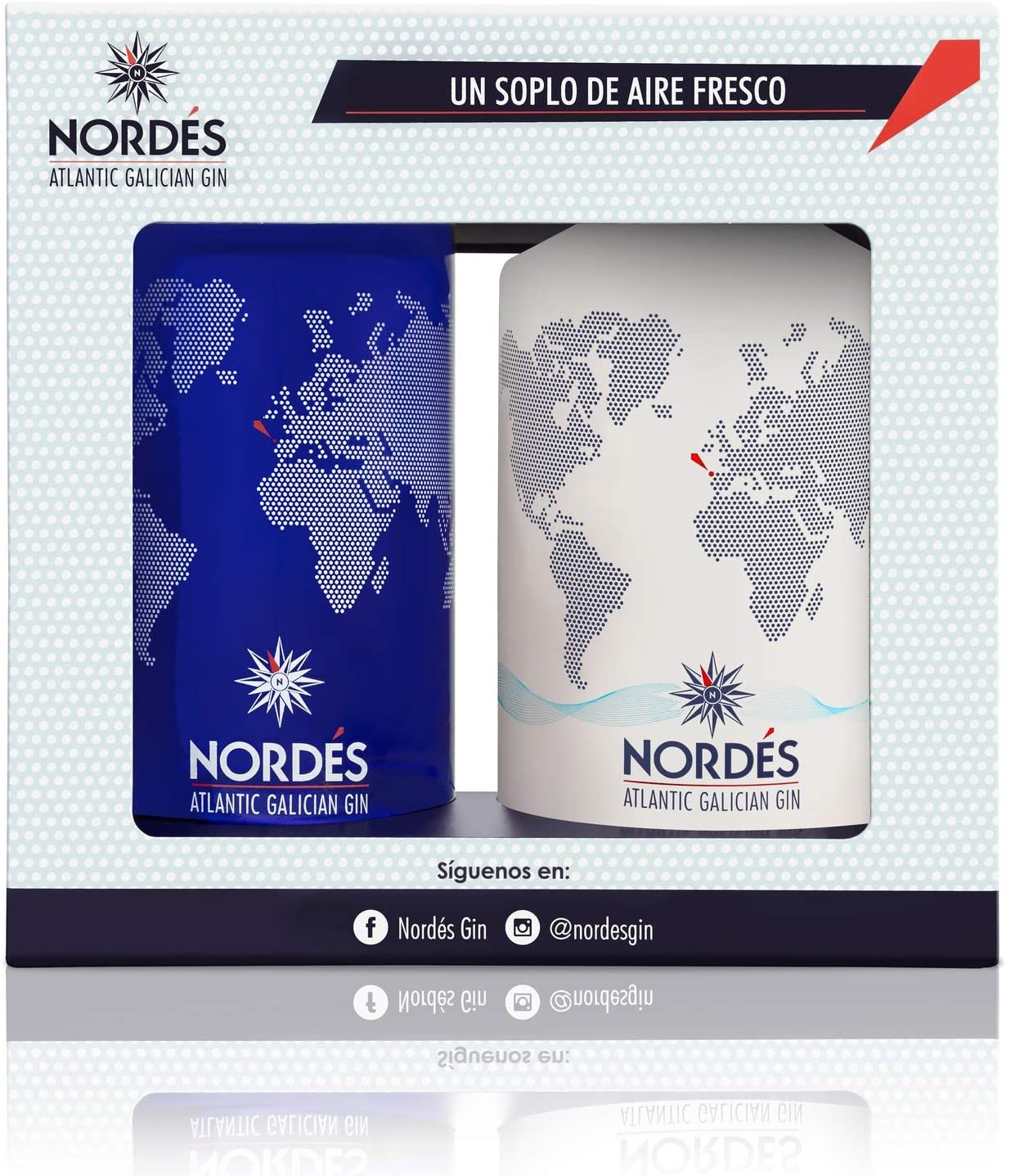 Ginebra Nordés Atlantic Galician + Vaso Coleccionable de Regalo