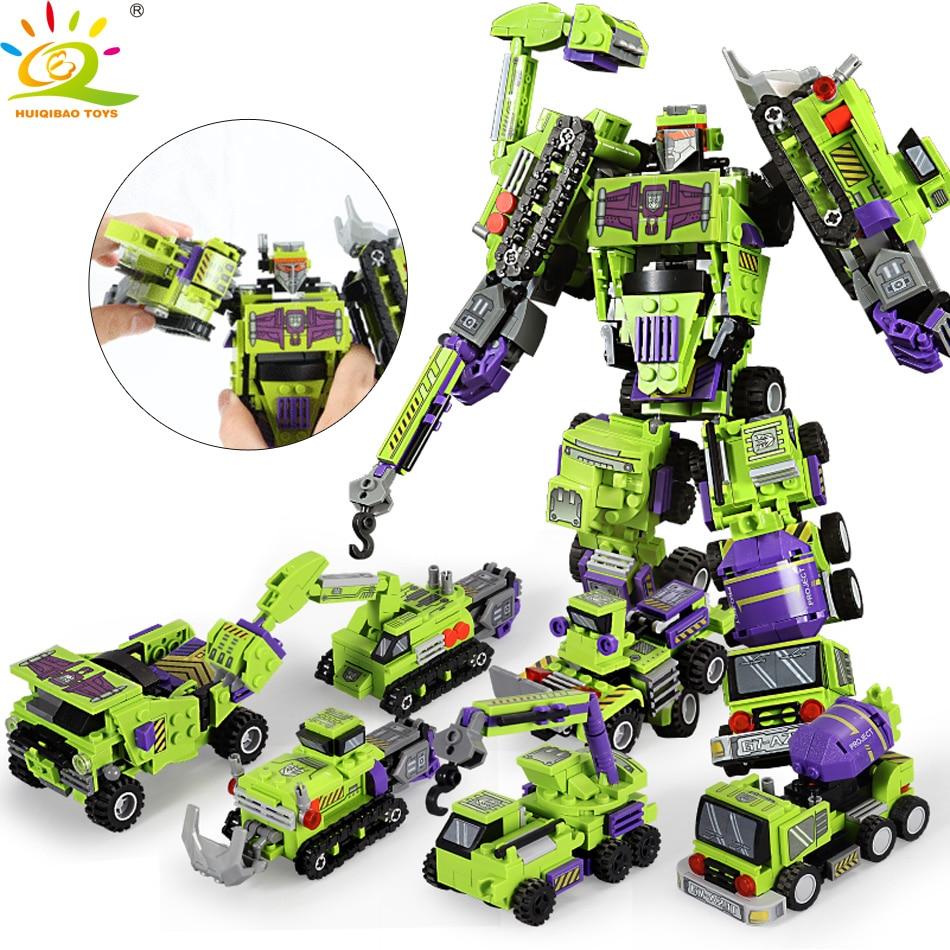 Robot 6 en 1 709 piezas