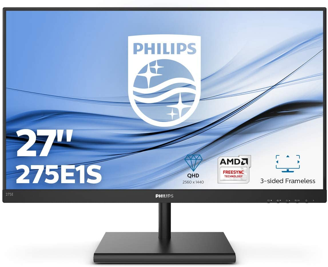 Monitor Philips IPS QHD de 27""