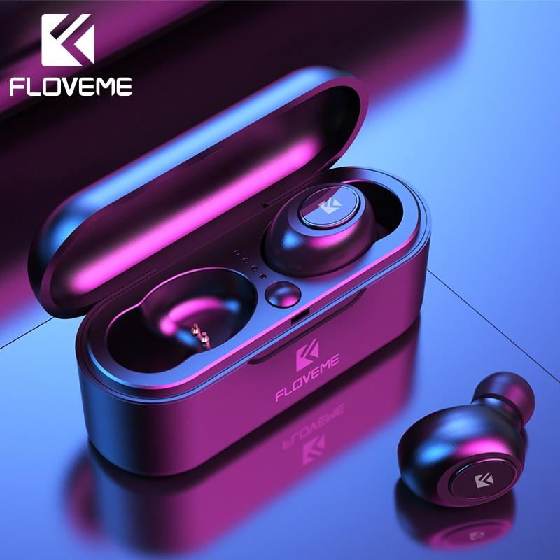 Auriculares TWS FLOVEME  inalámbricos con Bluetooth 5.0