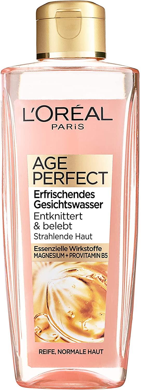 Agua facial refrescante L'Oréal Paris Age Perfect 200 ml