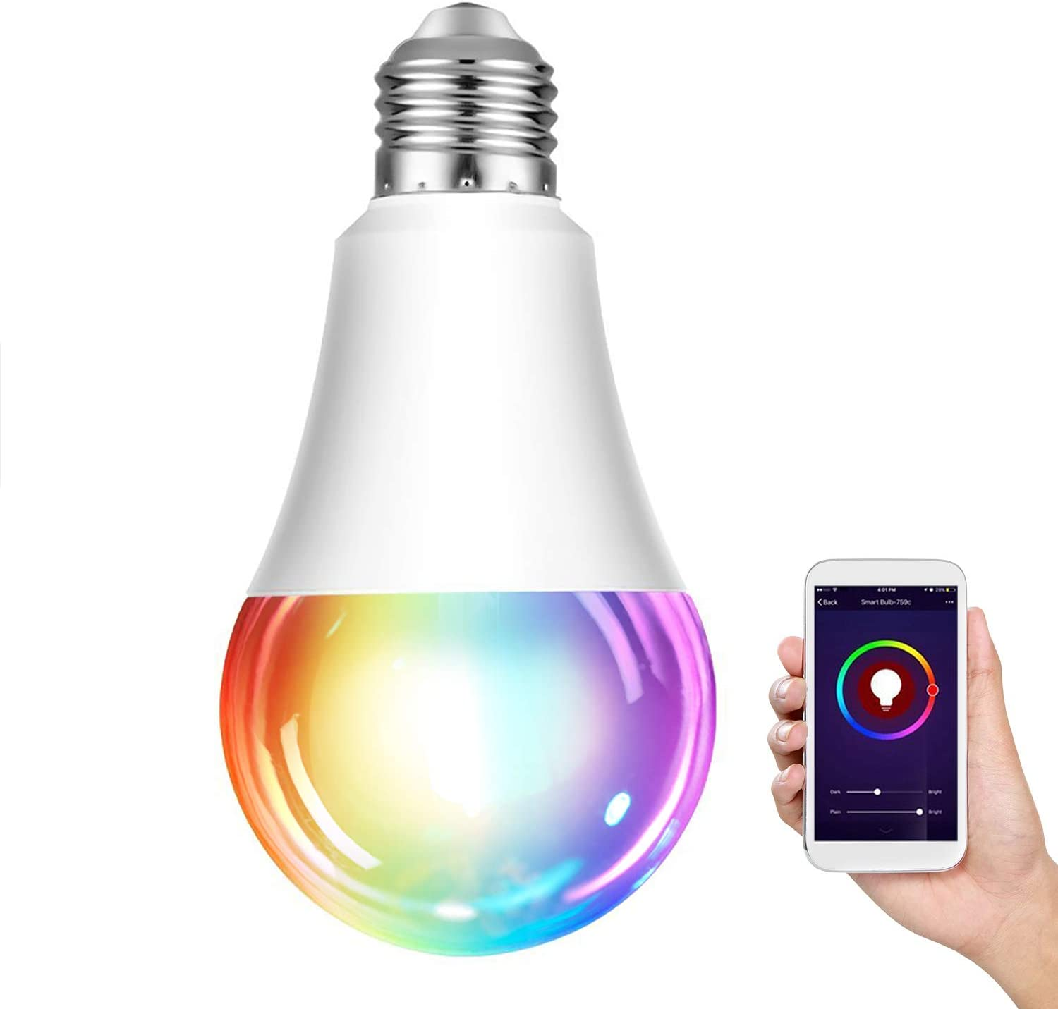 Bombilla wifi inteligente LED