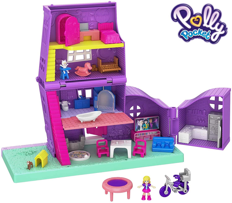 Casa de muñecas de juguete Polly Pocket