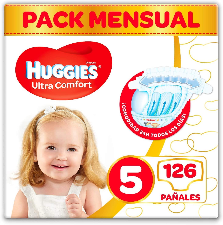 Pañales Huggies Ultra Comfort Talla 5