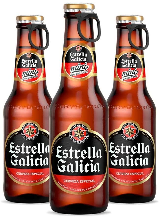 Pack 24 Estrella Galicia Cerveza Especial Mini 20cl
