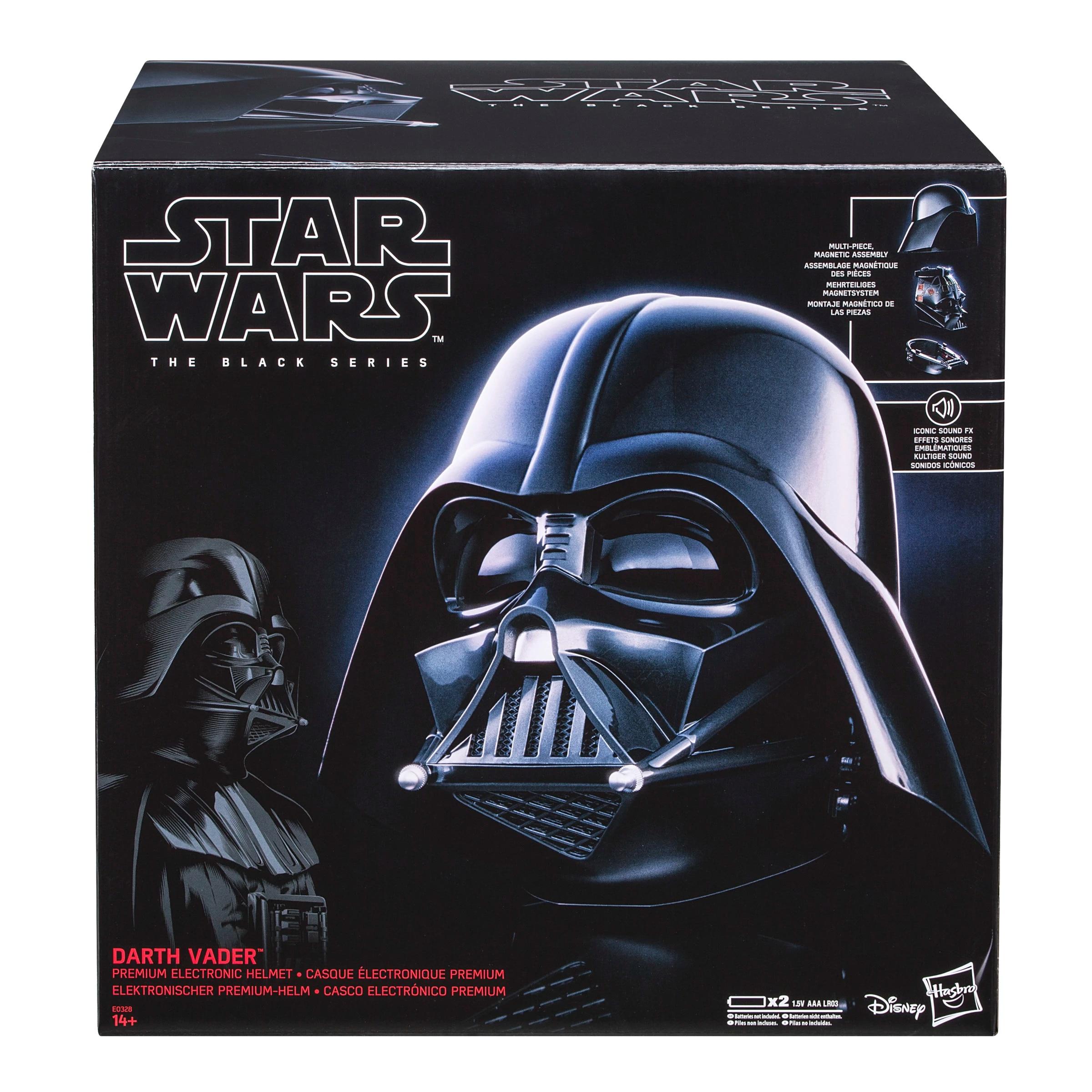 Casco Electrónico Darth Vader de Hasbro