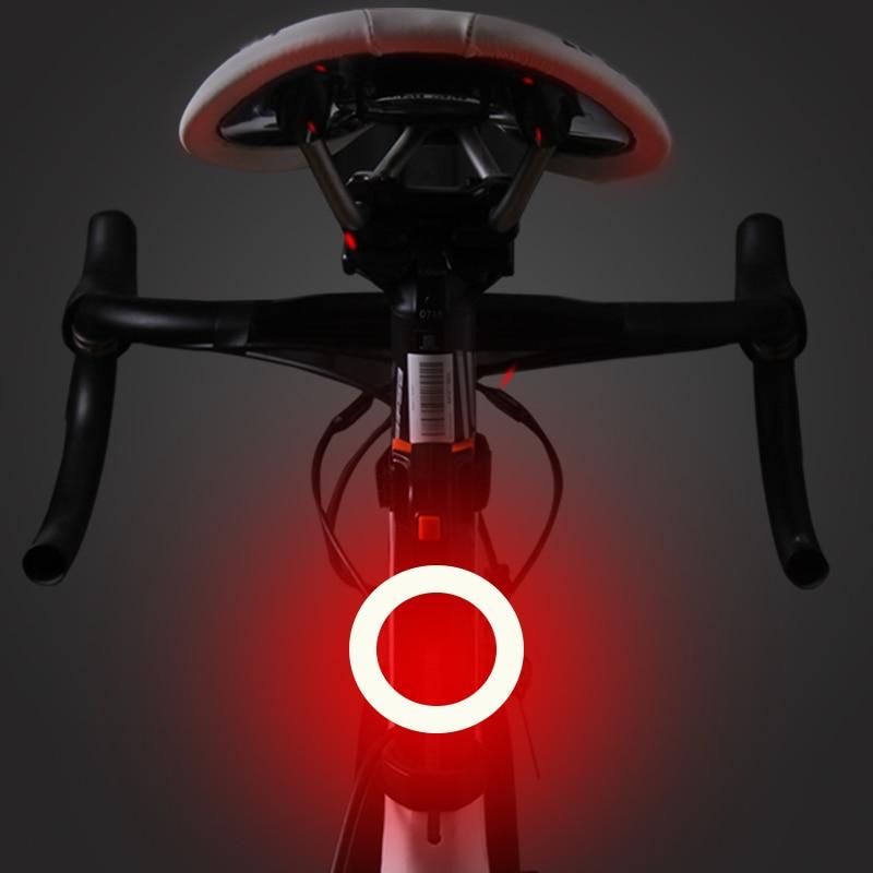 Bicicleta luz trasera LED para bicicleta