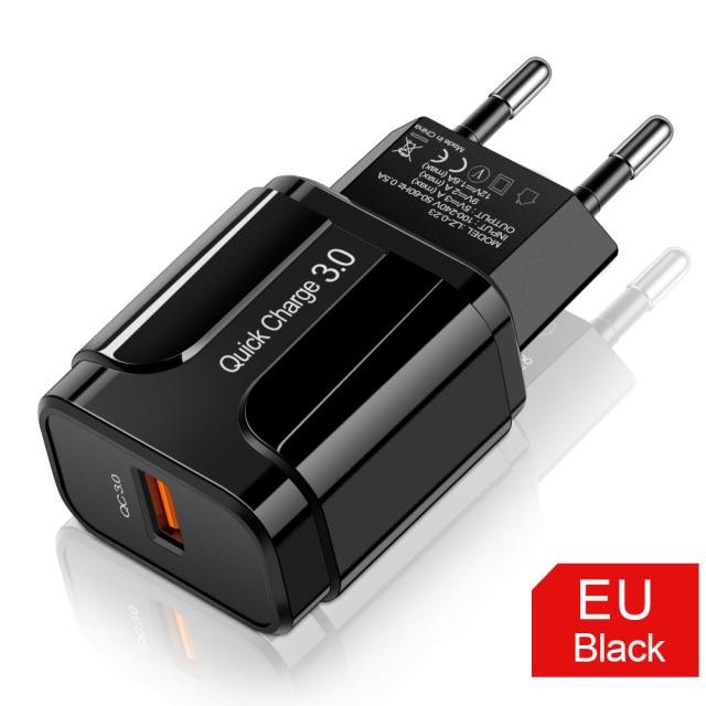 Cargador QC 18W USB 3.0