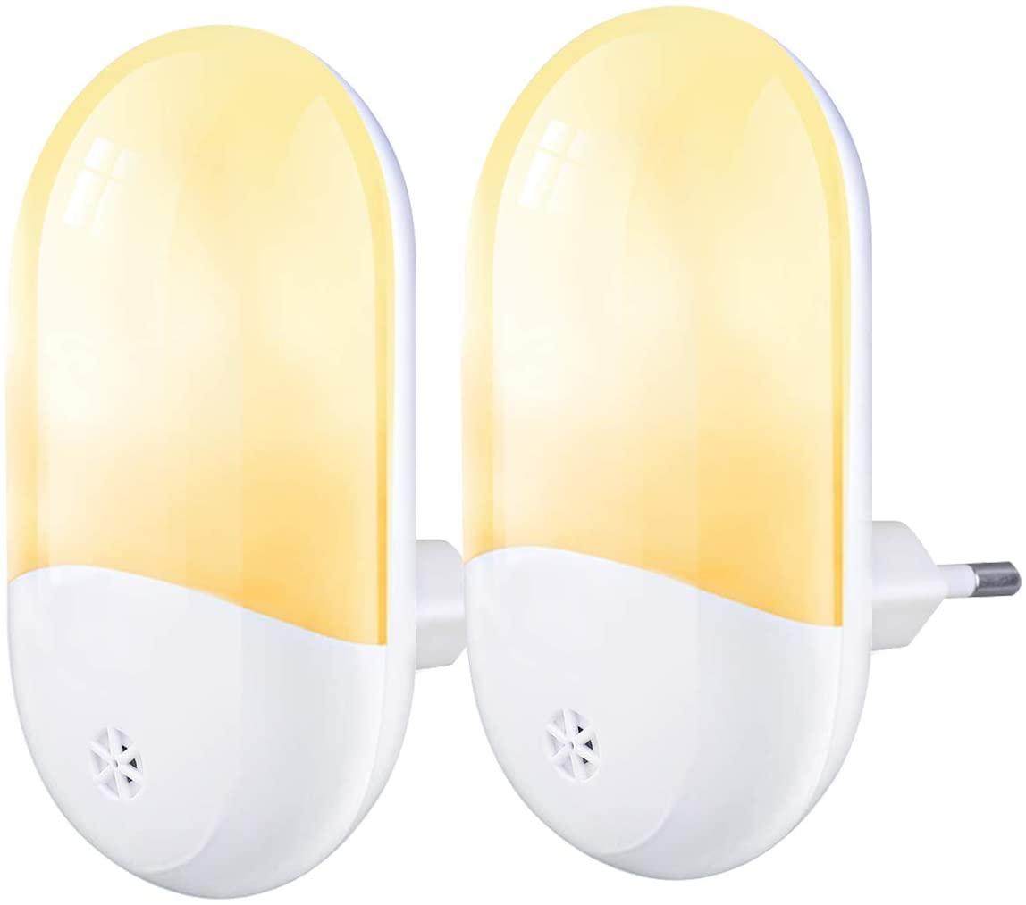 Luz nocturna infantil con sensor