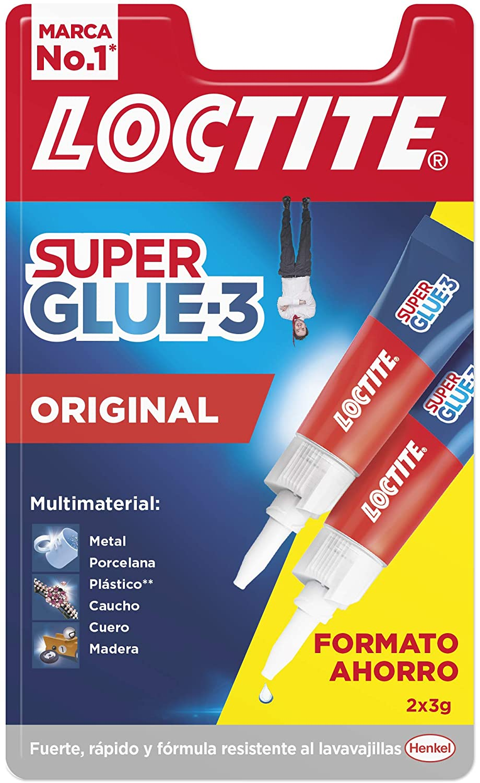 3 x Loctite Super Glue original