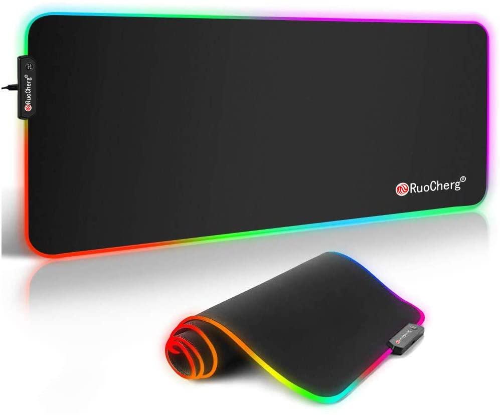 Alfombrilla de escritorio XL RGB