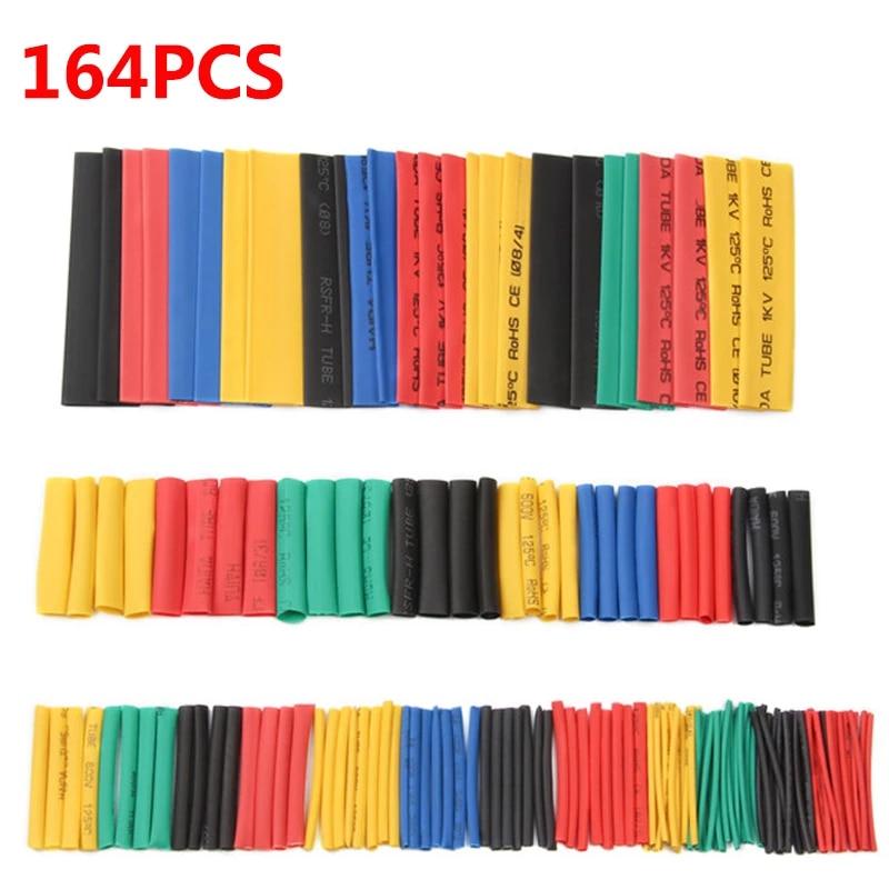 164 tubos de cinta termorretráctil