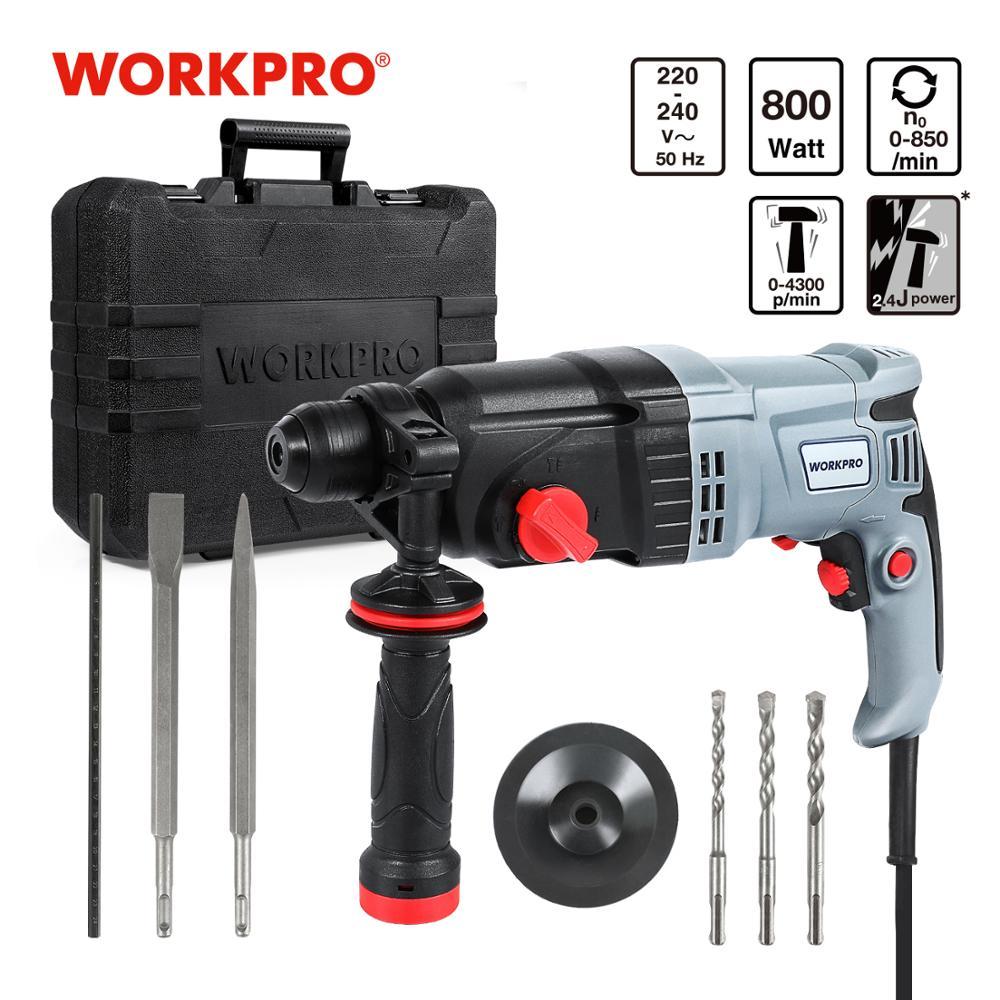 Taladro Workpro 800W