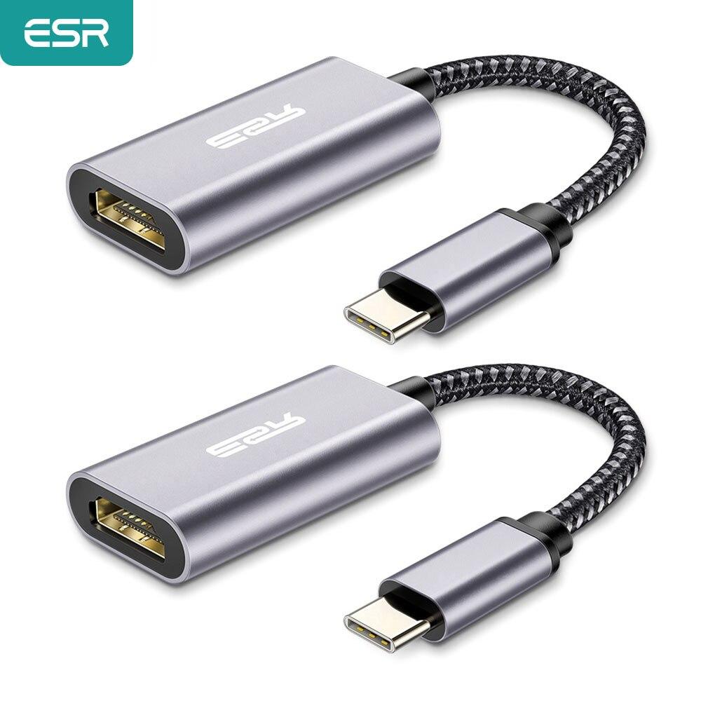 Adaptador USB-C a HDMI 4K ESR