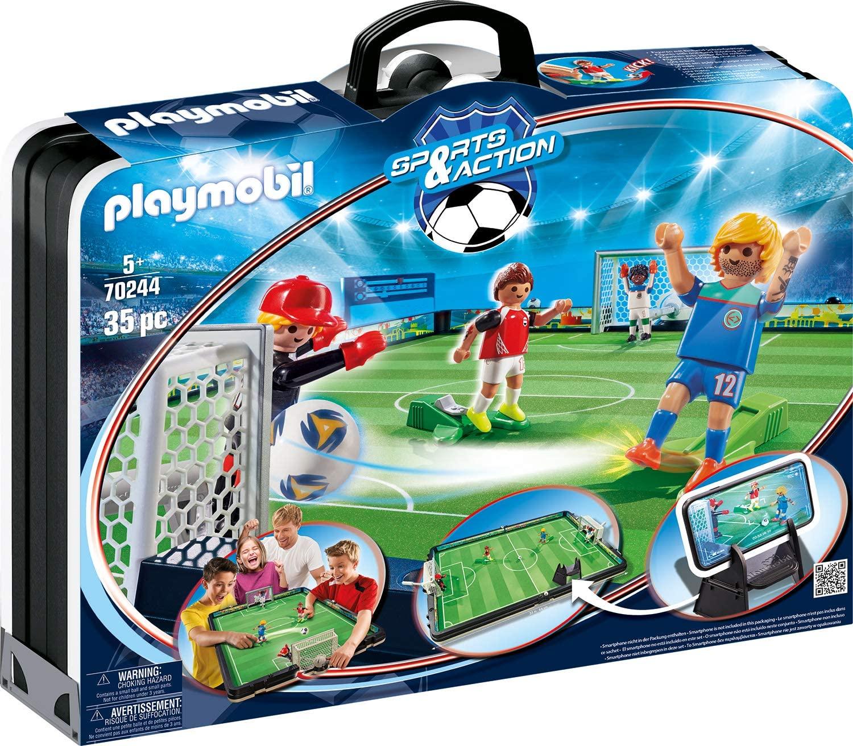 Maletín PLAYMOBIL Sports and Action Campo de Fútbol