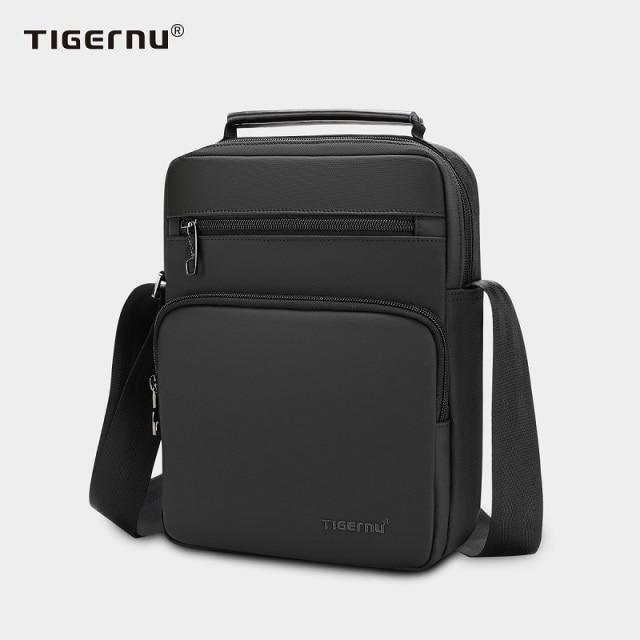 """Tigernu-Bolso de hombro impermeable de alta calidad para hombre, Mini bolsa para iPad de 9,7 """", bandoleras de viaje de negocios, 2021"""