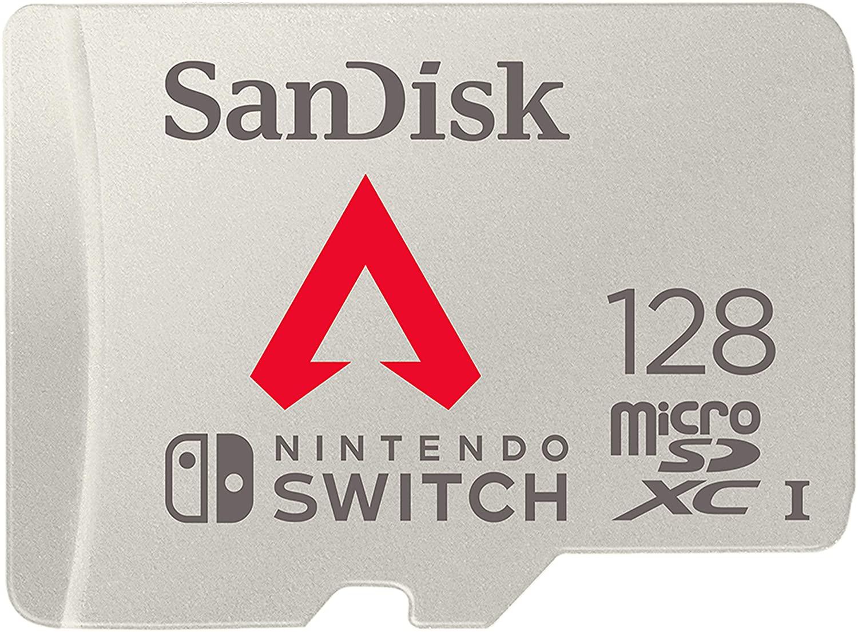SanDisk microSDXC UHS-I Tarjeta para Nintendo Switch 128GB