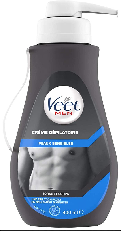 Veet Men Crema depilatoria 400 ml