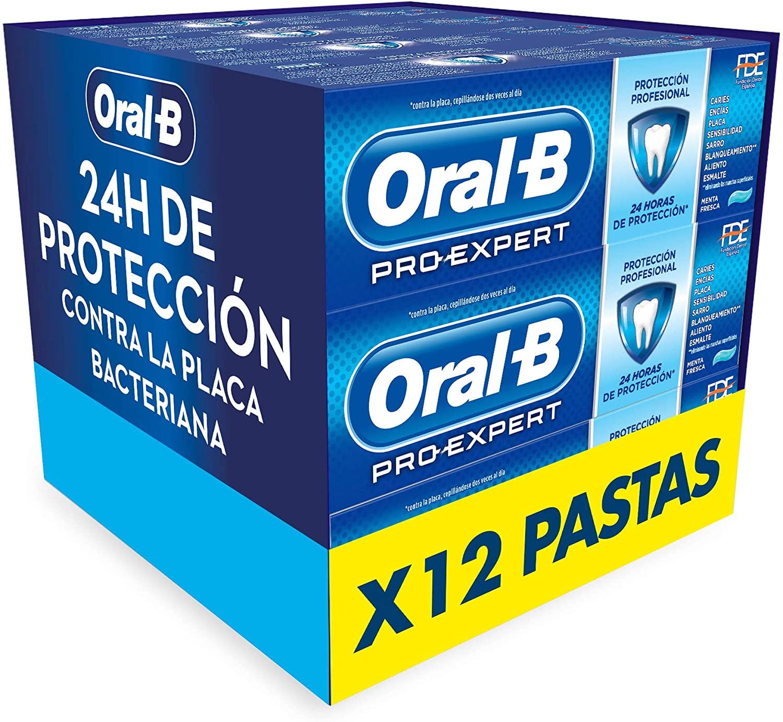 12x Pasta de Dientes Oral-B Pro-Expert Protección Profesional