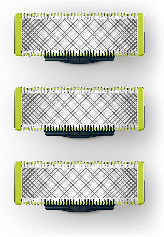 Philips OneBlade  - Pack con 3 cuchillas de recambio