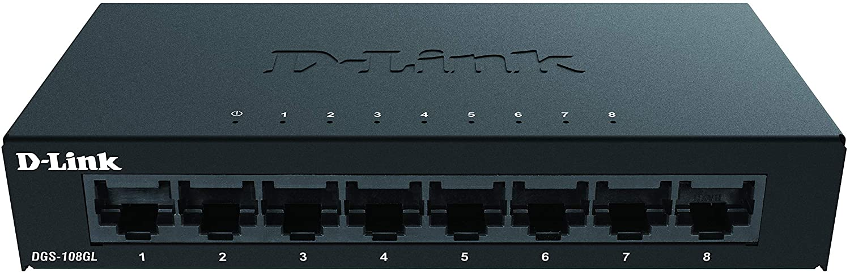 Switch Netgear 8 Puertos Giga gestionado